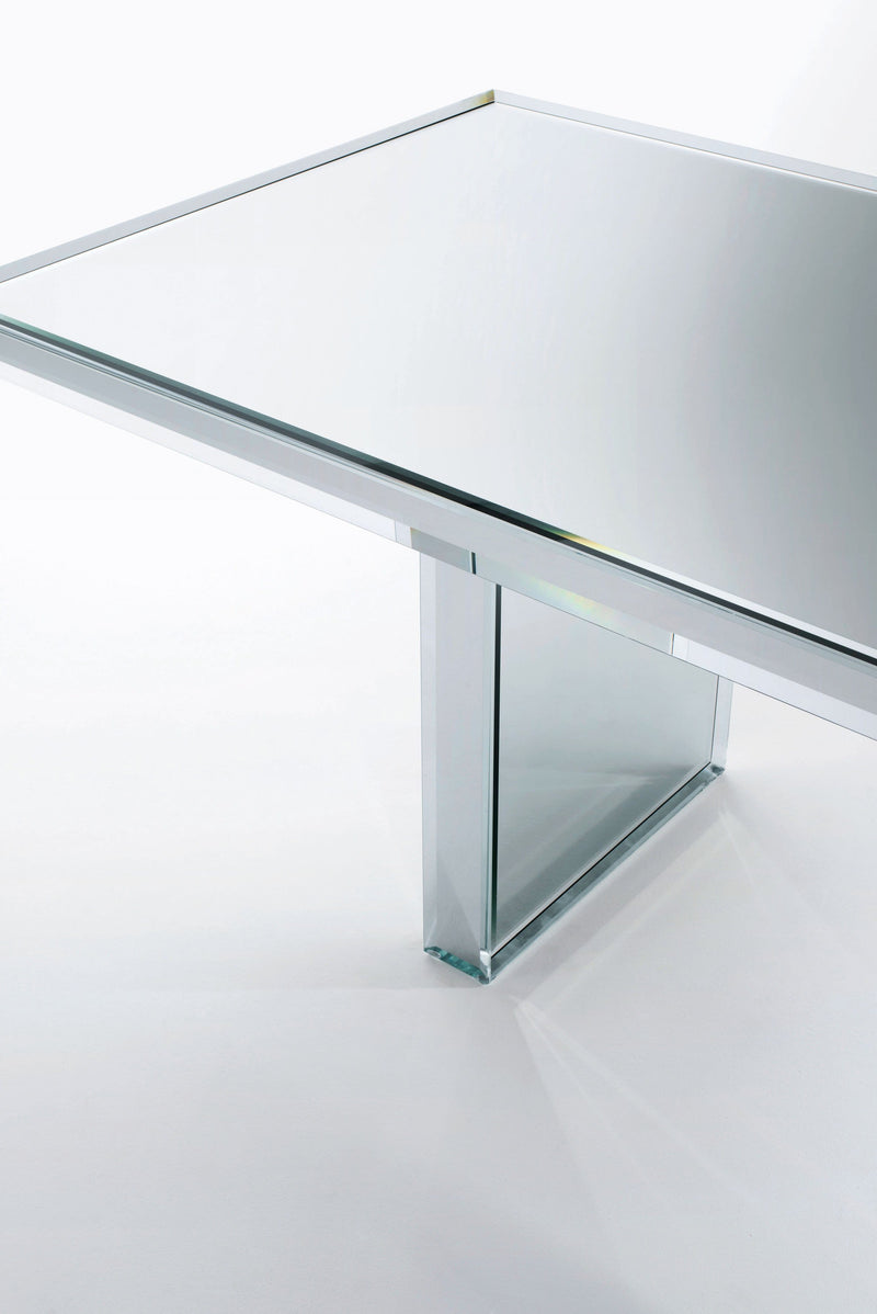 Prism - Mirror Table | Glas Italia | JANGEORGe Interior Design