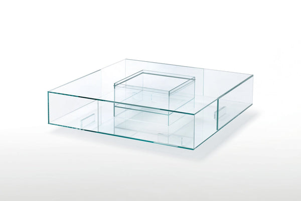 Seasons - Low Glass Table by Glas Italia | JANGEORGe Interior Design