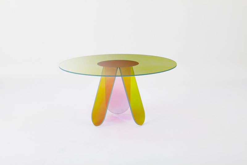 Shimmer Glass Table | Glas Italia | JANGEORGe Interior Design