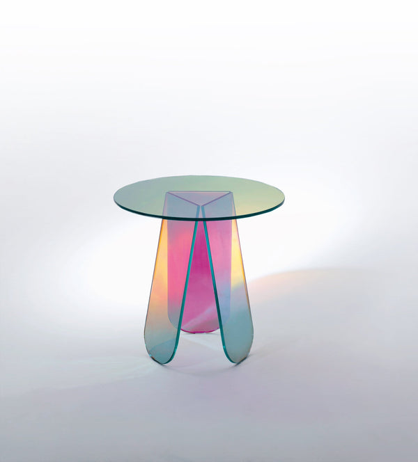 Shimmer - Glass Table by Glas Italia | JANGEORGe Interior Design
