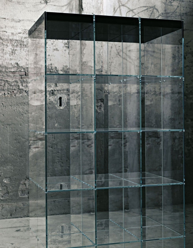 Space Glass Bookcase | Glas Italia | JANGEORGe Interior Design