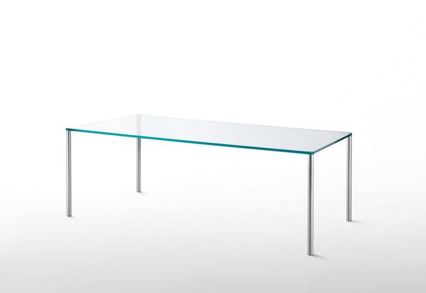 Steel - Glass Table by Glas Italia | JANGEORGe Interior Design