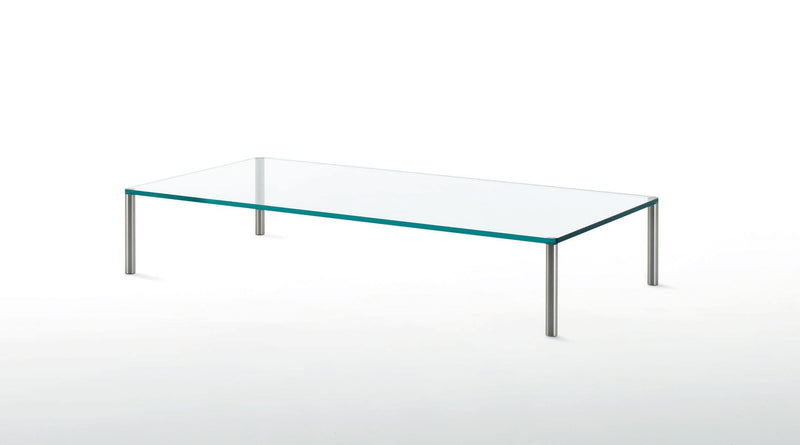 Steel Glass Table | Glas Italia | JANGEORGe Interior Design
