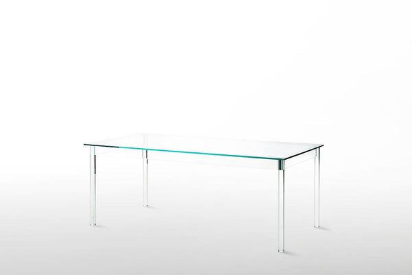 Sublimazione - High Glass Table by Glas Italia | JANGEORGe Interior Design