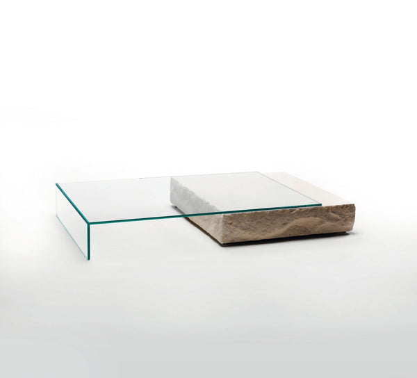 Terraliquida Low Glass Table | Glas Italia | JANGEORGe Interior Design