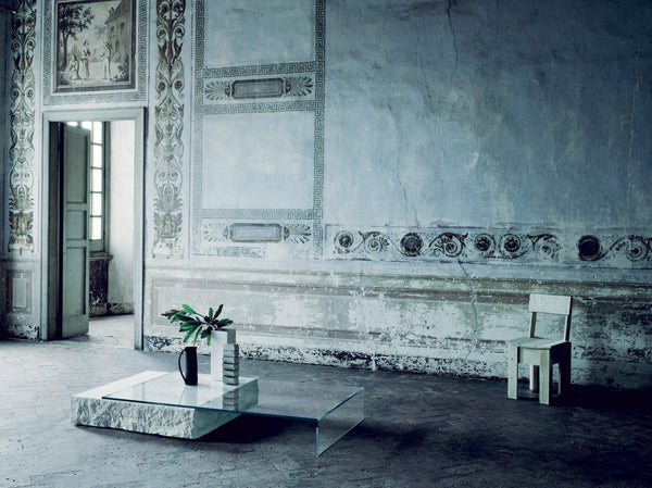 Terraliquida - Low Glass Table by Glas Italia | JANGEORGe Interior Design