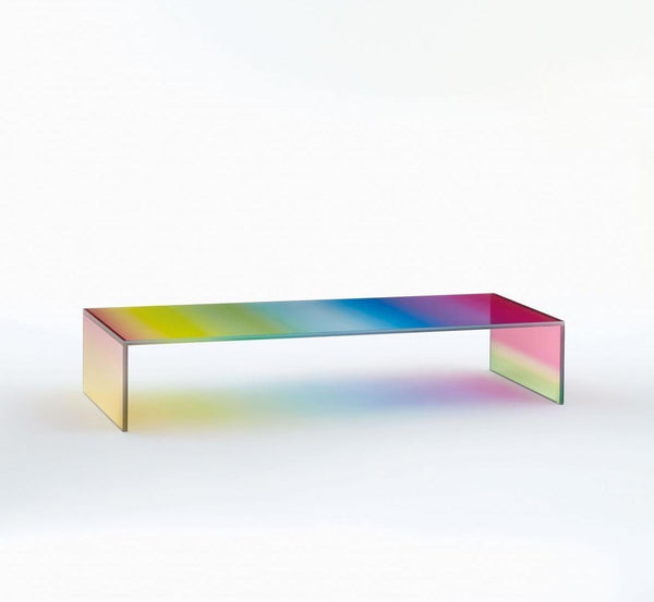 The Dark Side of the Moon - Low Glass Table by Glas Italia | JANGEORGe Interior Design