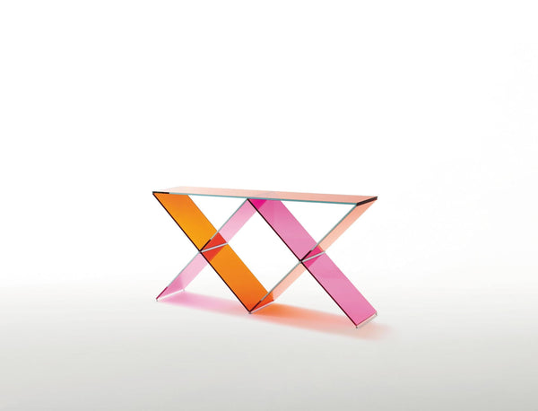 XX Console Table | Glas Italia | JANGEORGe Interior Design