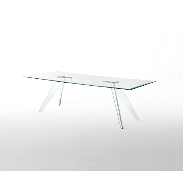 Alister - Glass Dining Table by Glas Italia | JANGEORGe Interior Design