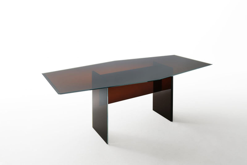 Bisel - Glass Table by Glas Italia | JANGEORGe Interior Design