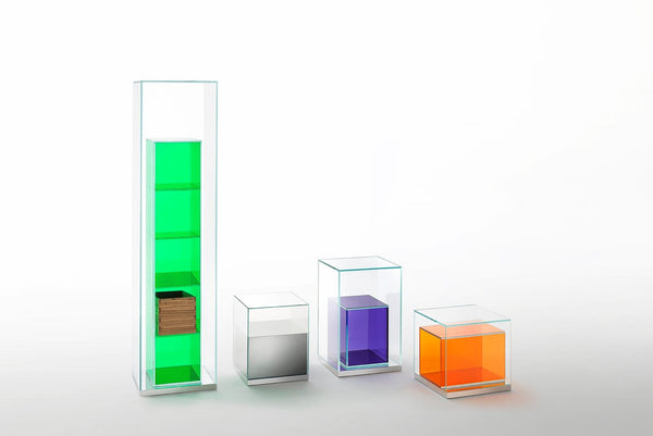 Boxinbox Low Glass Table | Glas Italia | JANGEORGe Interior Design