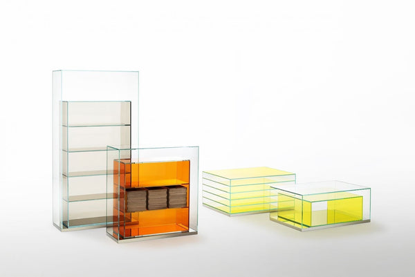 Boxinbox - Low Glass Table by Glas Italia | JANGEORGe Interior Design