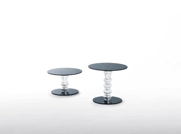 Calice - Low Glass Table by Glas Italia | JANGEORGe Interior Design