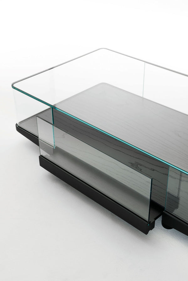 Collector - Low Glass Table by Glas Italia | JANGEORGe Interior Design