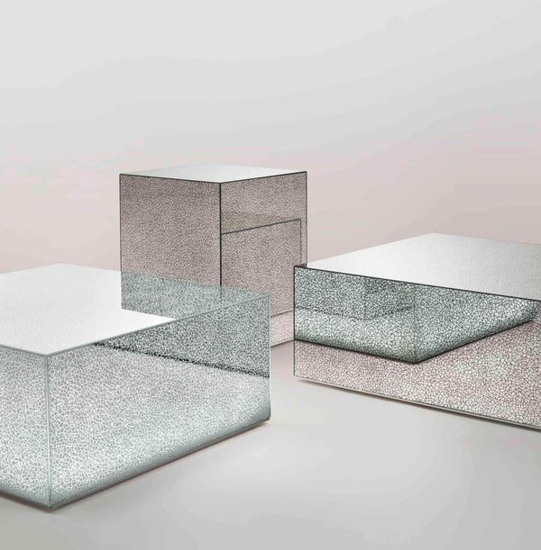 Crack Low Glass Table | Glas Italia | JANGEORGe Interior Design