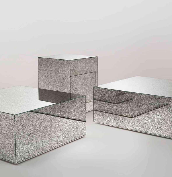 Crack - Low Glass Table by Glas Italia | JANGEORGe Interior Design