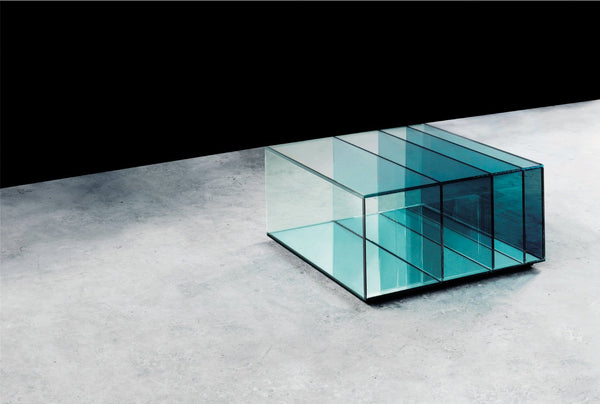 Deep Sea - Low Glass Table by Glas Italia | JANGEORGe Interior Design