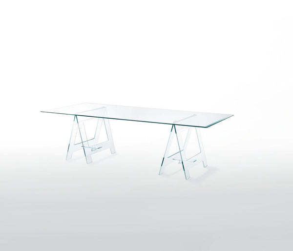 Don Cavalletto - Glass Table by Glas Italia | JANGEORGe Interior Design