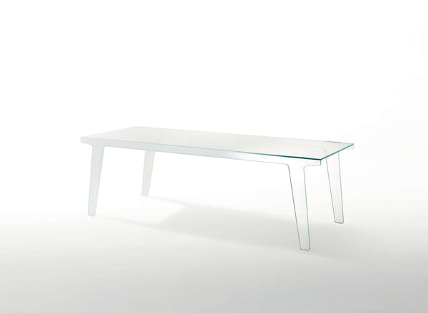 Faint - Glass Dining Table by Glas Italia | JANGEORGe Interior Design