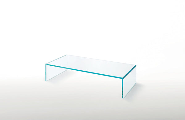 Ghiacciolo Ponte - Glass Table by Glas Italia | JANGEORGe Interior Design