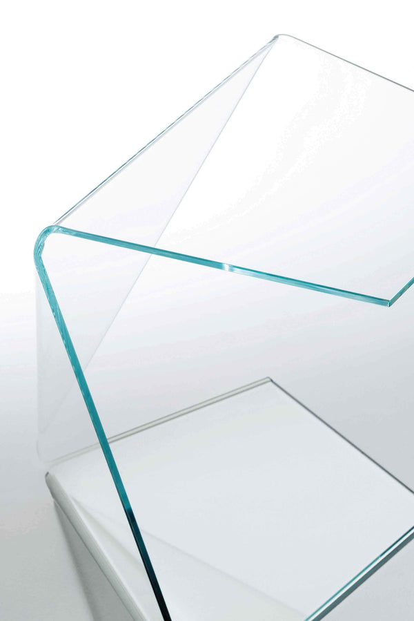 Harold and Maude - Low Glass Table by Glas Italia | JANGEORGe Interior Design