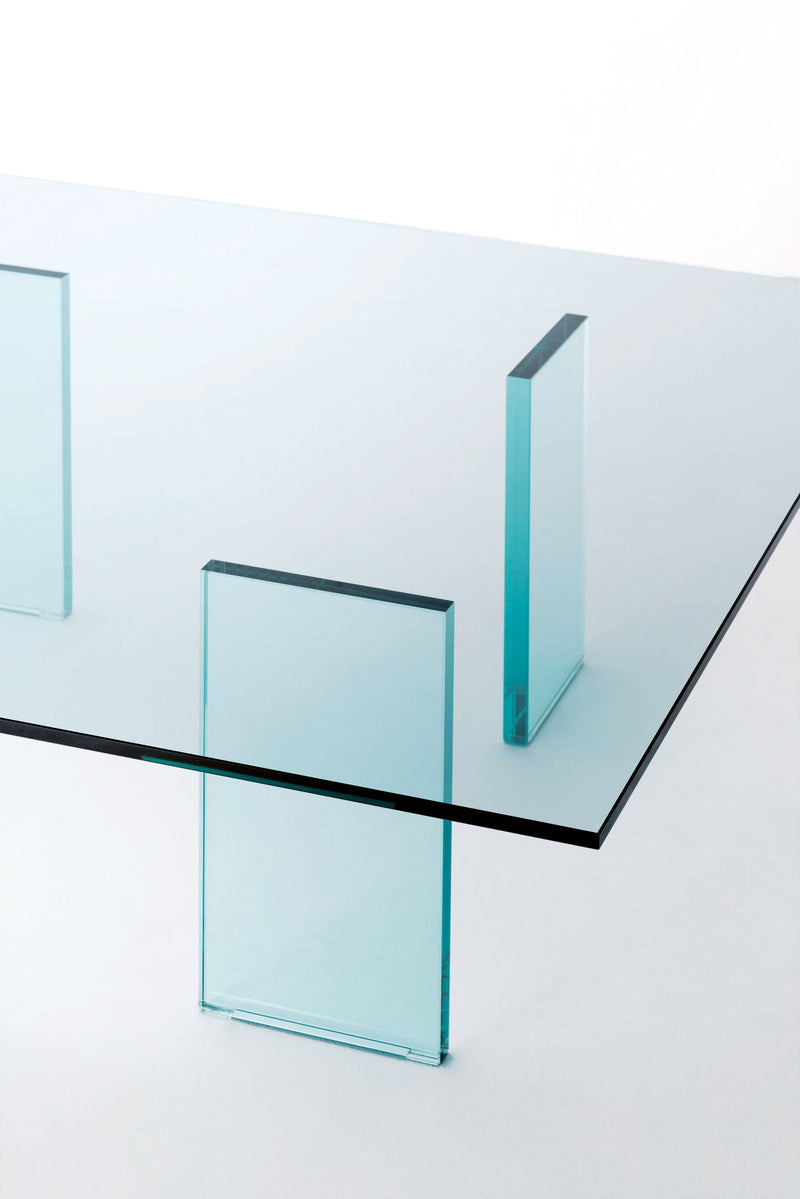Glass Table (1976) - Low Glass Table | Glas Italia | JANGEORGe Interior Design
