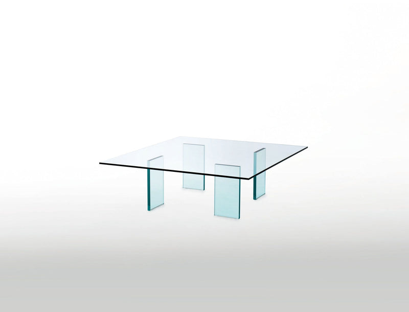 Glass Table (1976) - Low Glass Table by Glas Italia | JANGEORGe Interior Design