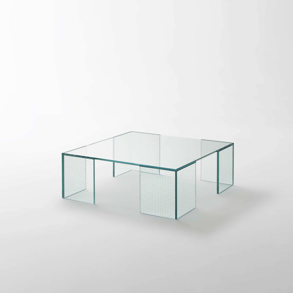 Grid - Low Table by Glas Italia | JANGEORGe Interior Design