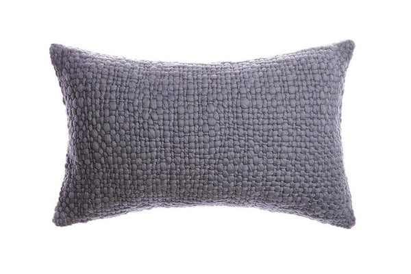 Alma Chunky Wool Lumbar Pillow | Homelosophy | JANGEORGe Interior Design