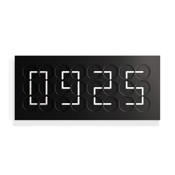 ClockClock24 - Black Edition by Humans Since 1982 | JANGEORGe Interior Design
