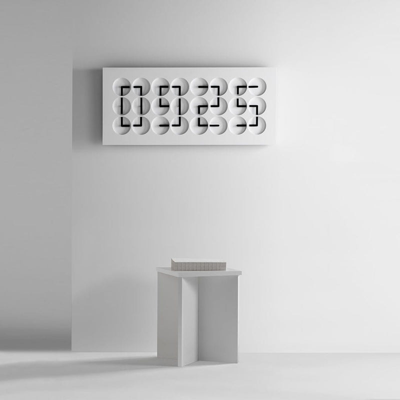 ClockClock24 - White Edition by Humans Since 1982 | JANGEORGe Interior Design