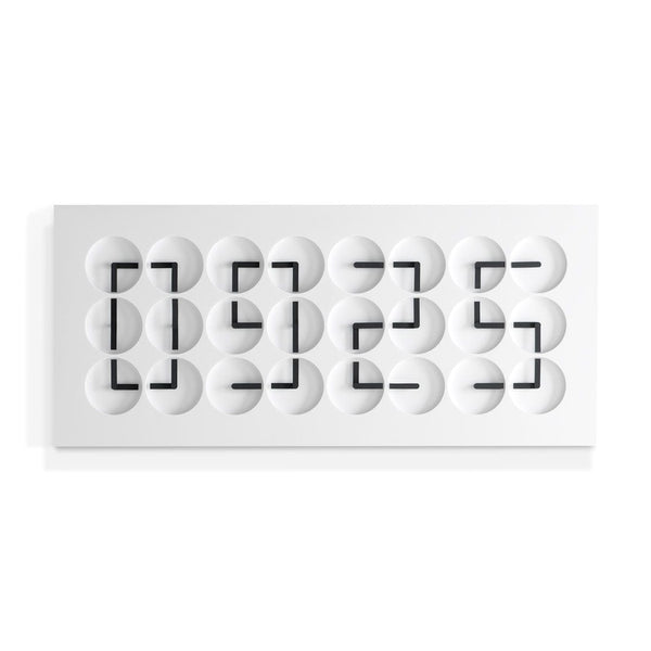 ClockClock24 White Edition - JANGEORGe Interior Design - Humans Since 1982