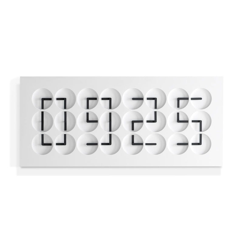 ClockClock24 White Edition | Humans Since 1982 | JANGEORGe Interior Design