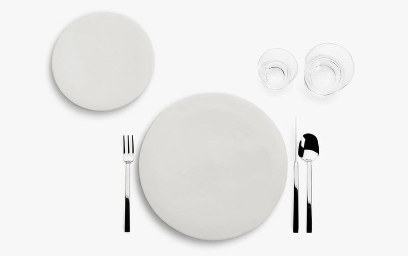 John Pawson - Tableware Collection, 24 Piece Set by When Objects Work | JANGEORGe Interior Design