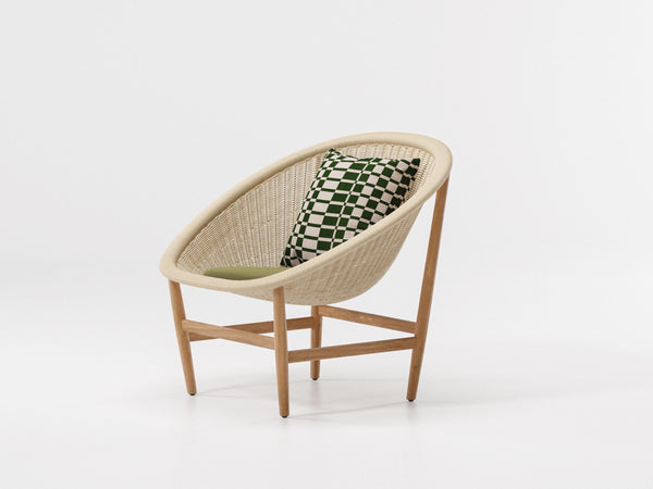 Basket - Outdoor Basket Armchair by Kettal | JANGEORGe Interior Design