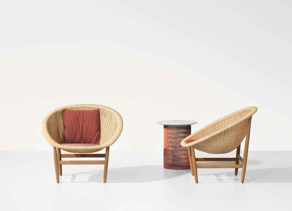 Basket - Outdoor basket armchair | Kettal | JANGEORGe Interior Design