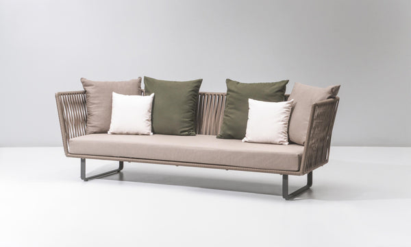 Bitta - 3-Seater Sofa by Kettal | JANGEORGe Interior Design