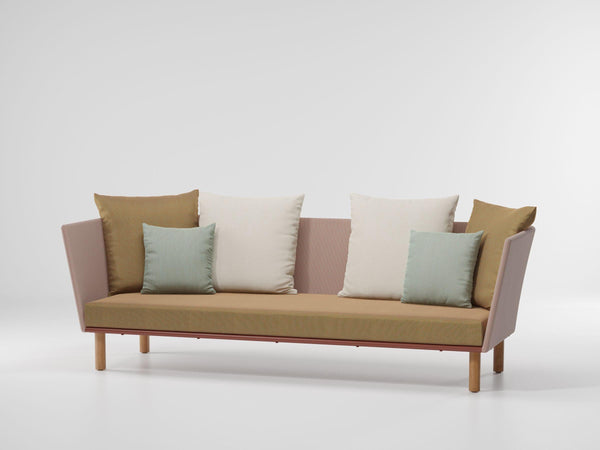 Bitta - 3-Seater Sofa Parallel Teak Legs by Kettal | JANGEORGe Interior Design