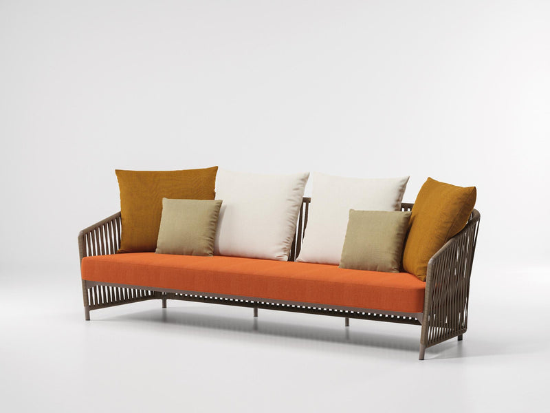 Bitta Lounge - 3-Seater sofa rope | Kettal | JANGEORGe Interior Design