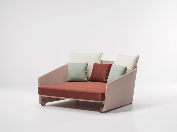 Bitta Lounge - Daybed Parallel Fabric by Kettal | JANGEORGe Interior Design