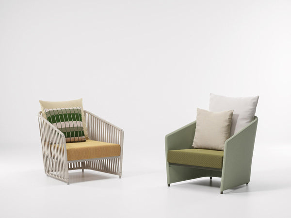 Bitta Lounge - Full club armchair | Kettal | JANGEORGe Interior Design
