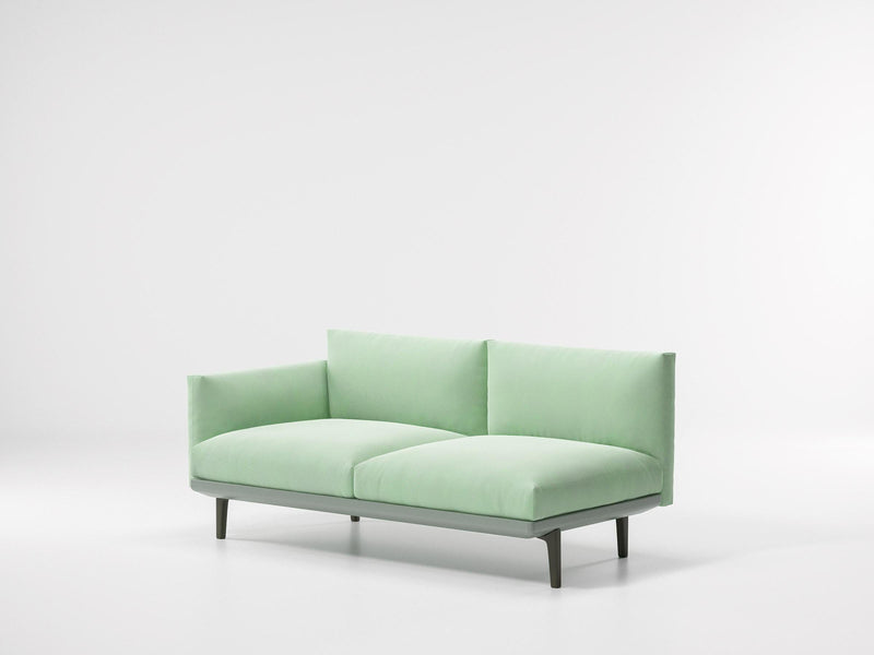 Boma - Left Corner 2-Seater End by Kettal | JANGEORGe Interior Design