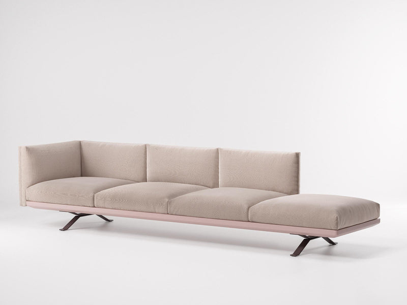 Boma - Left corner 4-seater connection open | Kettal | JANGEORGe Interior Design