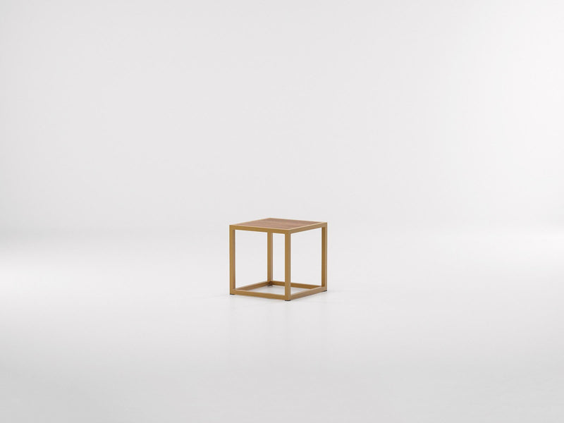 Landscape - Teak Side Table | Kettal | JANGEORGe Interior Design