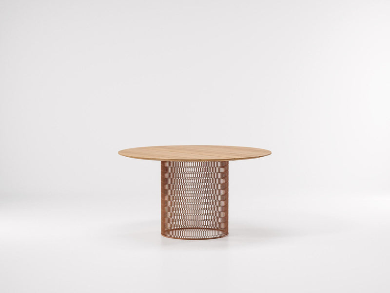 Mesh - Dining Table ø135 by Kettal | JANGEORGe Interior Design