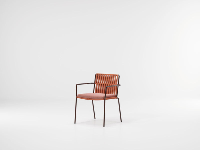 Net - Light Dining Armchair by Kettal | JANGEORGe Interior Design