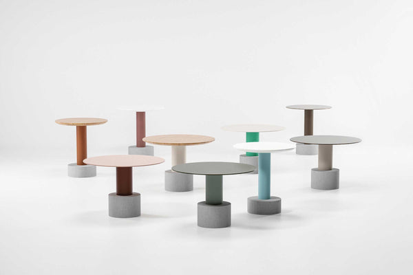 Roll - Side Table ø48 by Kettal | JANGEORGe Interior Design
