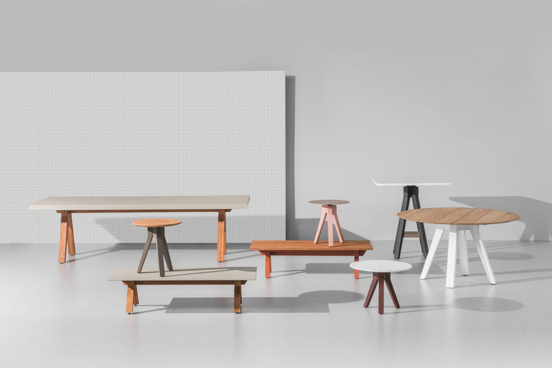 Vieques - Dining Table 80x80 / 90x90 / ø90 by Kettal | JANGEORGe Interior Design