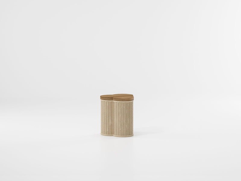 Vimini - Side Table Trefoil | Kettal | JANGEORGe Interior Design