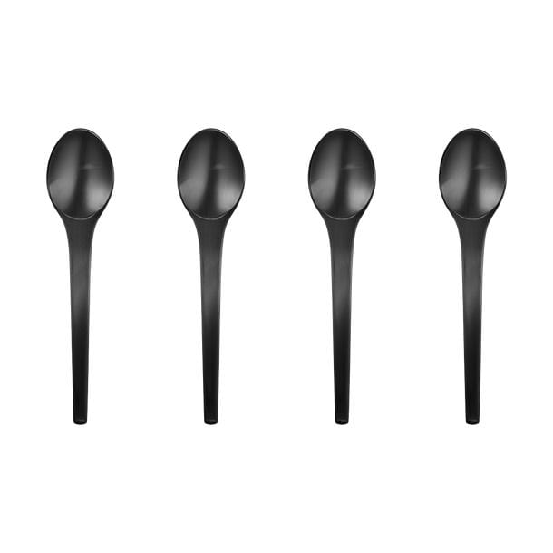 Koppel 100, Caravel small tea spoon set 4pcs, PVD plated stainless steel by Georg Jensen | JANGEORGe Interior Design